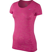 Nike Womens Dri-FIT Knit Contrast SS Top AW15